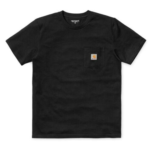 Carhartt Pocket T-shirt Black.