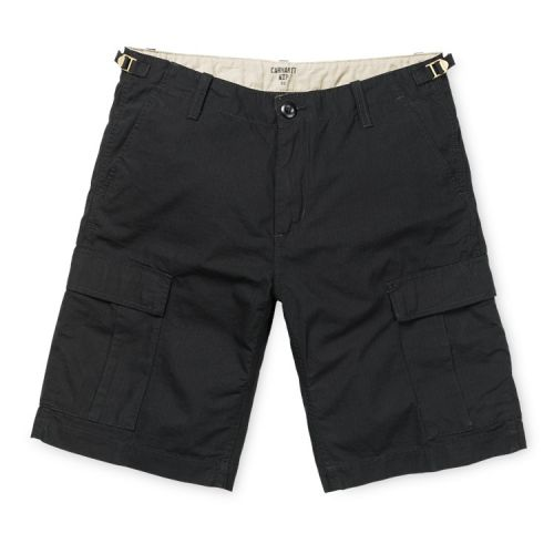 Aviation Cargo Shorts, Black.