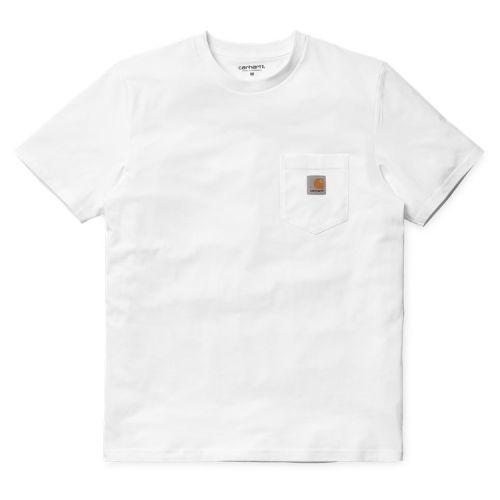 Carhartt Chest Pocket T-shirt, White.