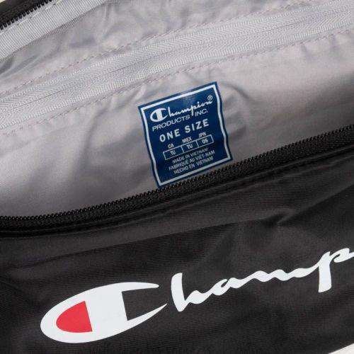 Champion Logo Belt Bag, Black.