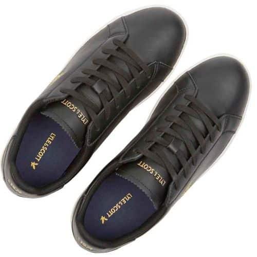 Lyle & Scott Cormack Sneaker, Black.
