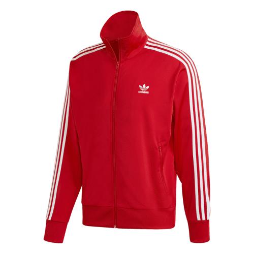 Adidas Red Firebird Track Jacket.
