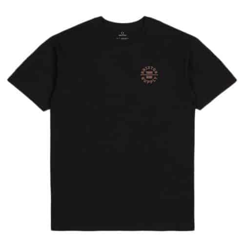 Brixton Supply Oath V T-shirt, Black.