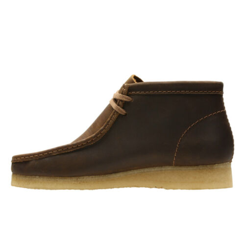 Clarks Wallabee Boot Beeswax, Leather.