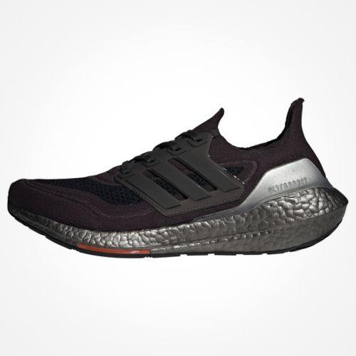 Adidas Ultraboost 21 Black-Silver.