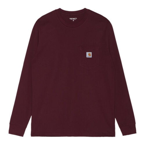 Carhartt Wine Pocket Long Sleeve T-shirt.